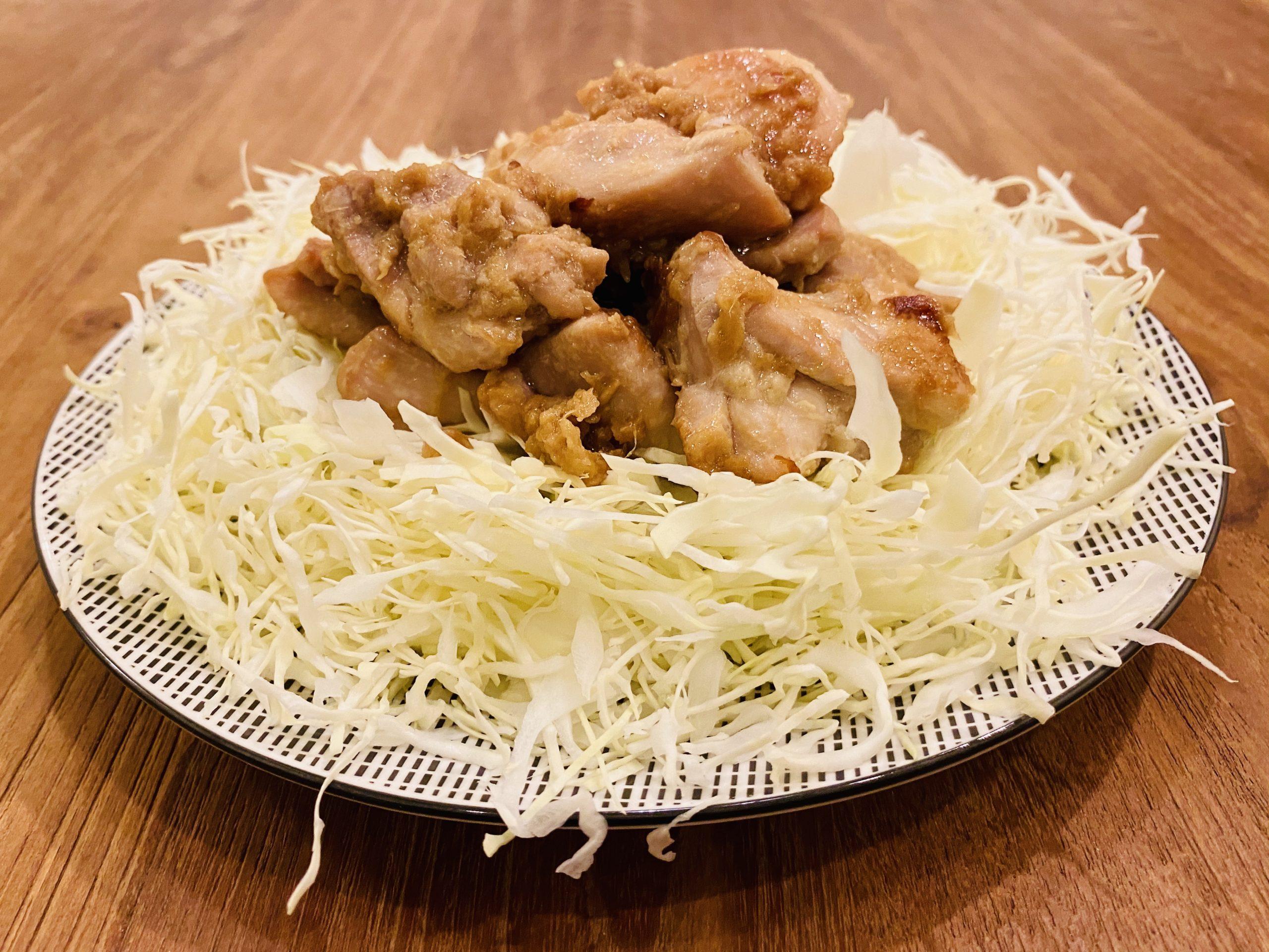 我が家の「鶏もも肉のにんにく生姜焼き」のレシピ