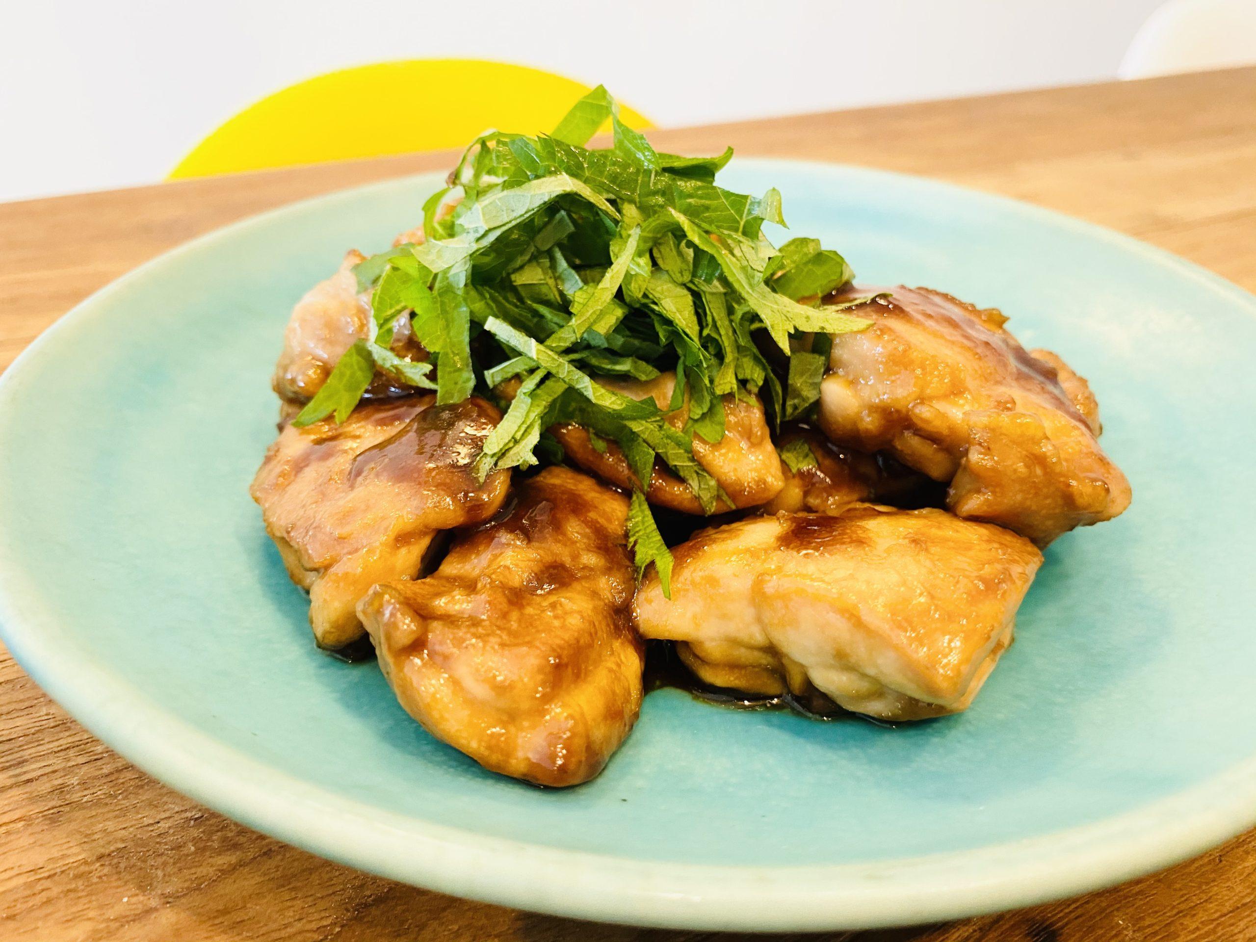 我が家の「ご飯がススム!鶏もも肉の照り焼き」のレシピ