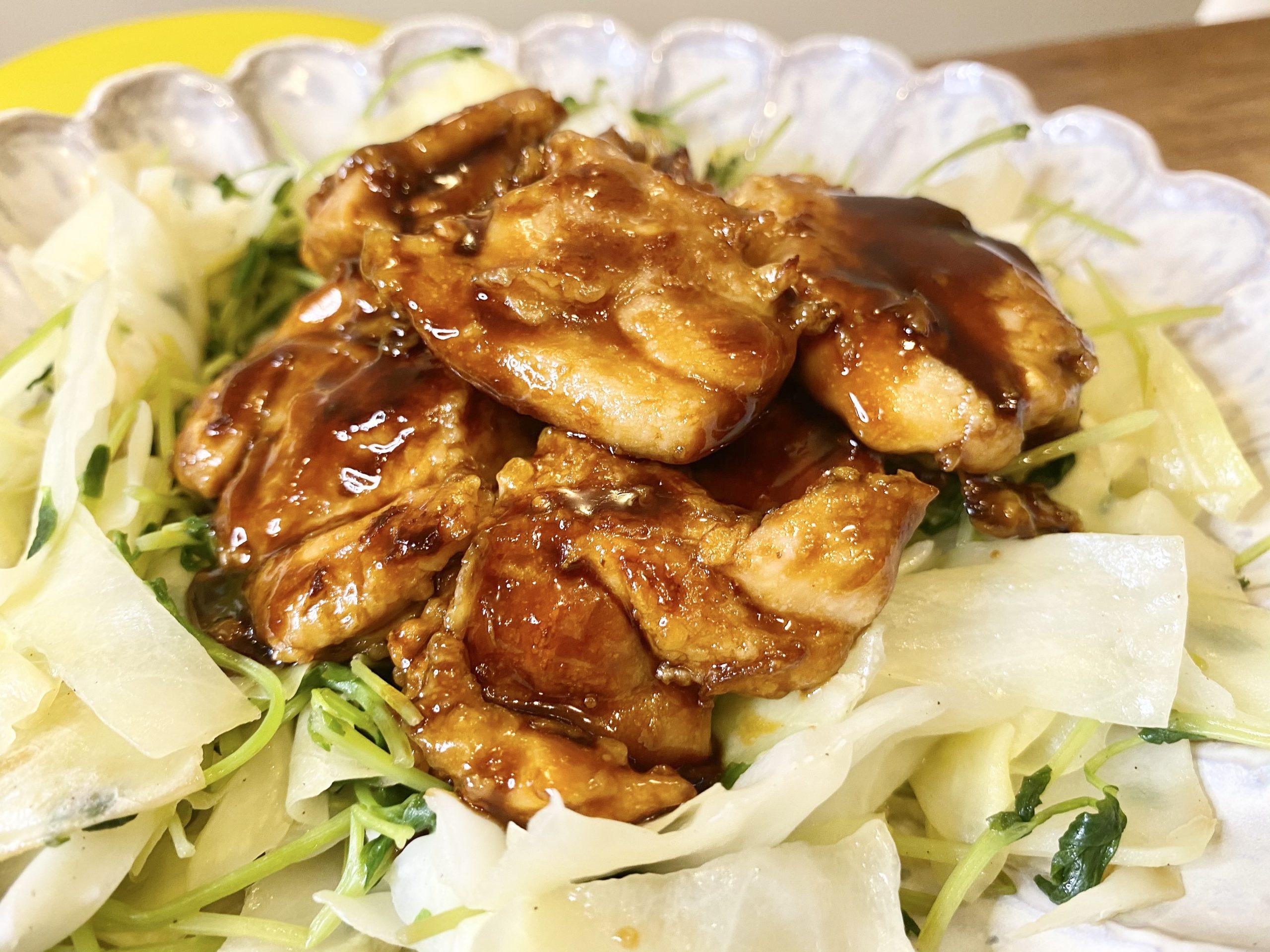 ご飯がススム!「鶏もも肉のオイスターソース炒め」のレシピ