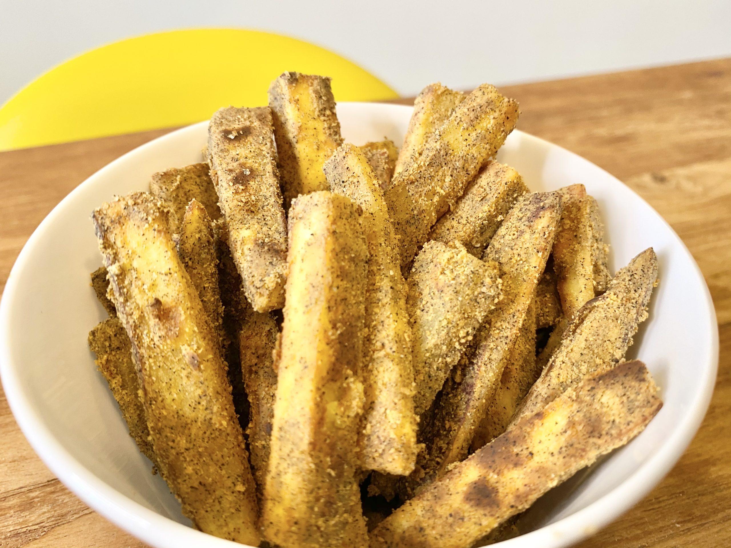 3時のおやつ!「さつまいもときな粉のバター焼き」のレシピ