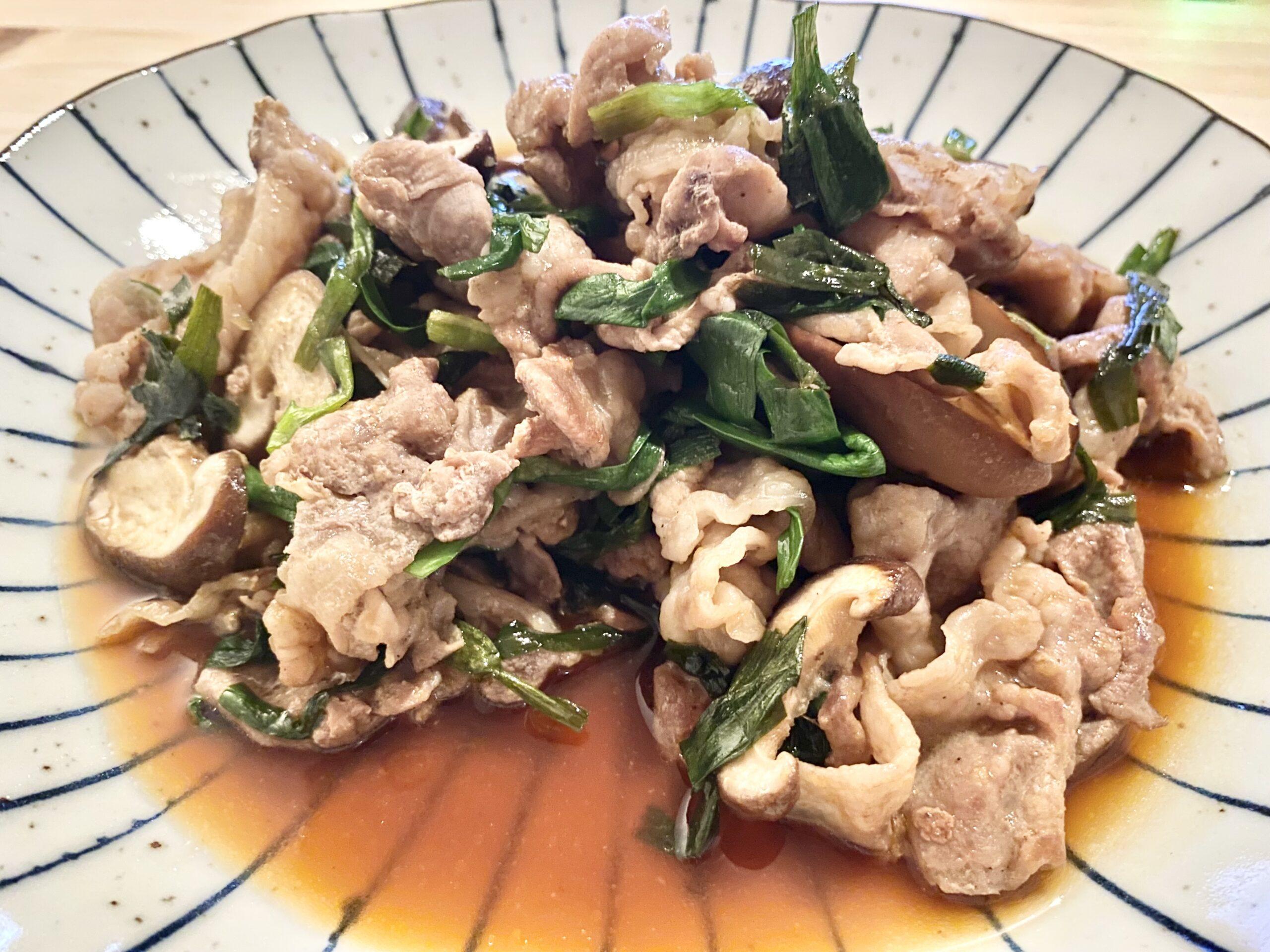 白ご飯に合う!「豚肉とニラのオイスターソース炒め」のレシピ