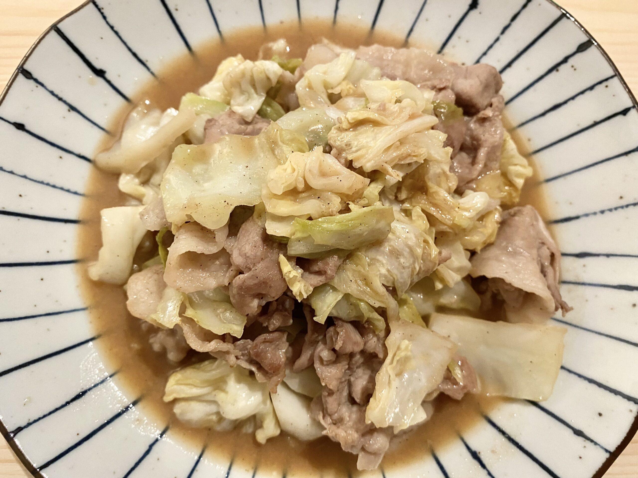 ご飯がススム!「スタミナ豚バラ酢味噌炒め」のレシピ